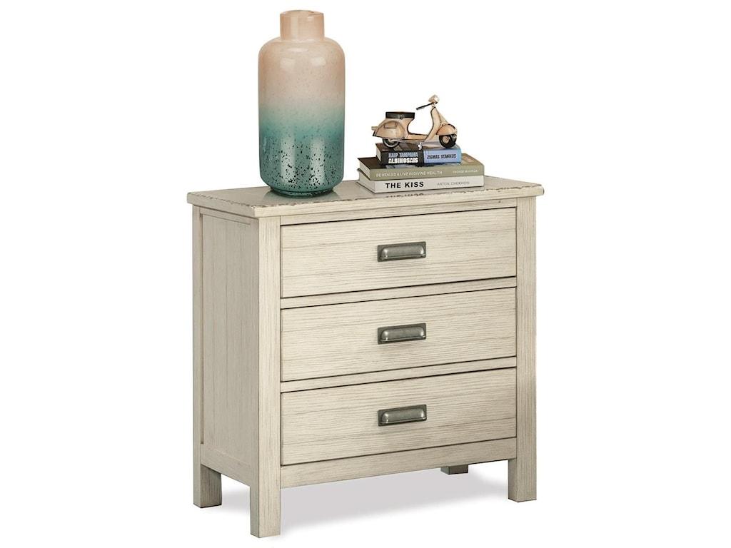 Riverside Furniture Aberdeen3-Drawer Nightstand