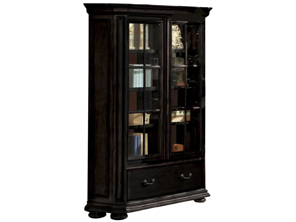 Riverside Furniture Allegro RSSliding Door Bookcase