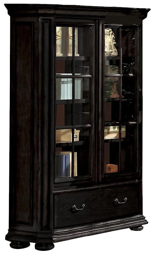 Riverside Furniture Allegro RS Sliding Door Bookcase