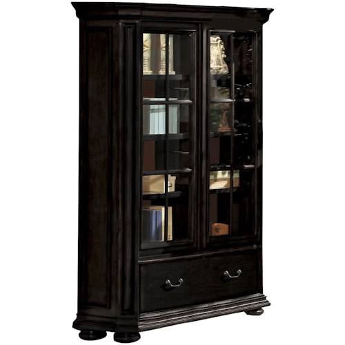 Riverside Furniture Allegro RS Sliding Door Bookcase