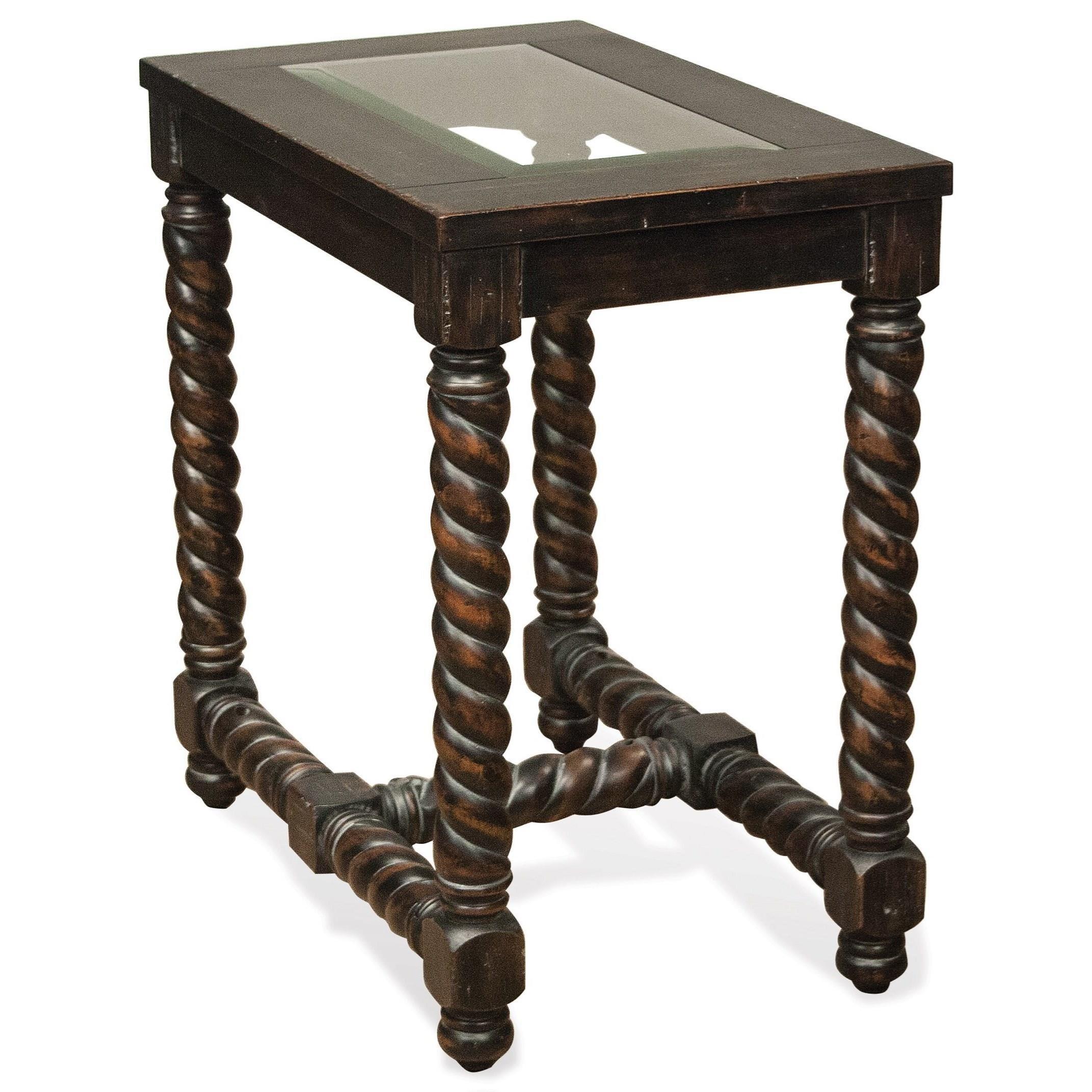 Riverside Furniture AlvaroChairside Table ...
