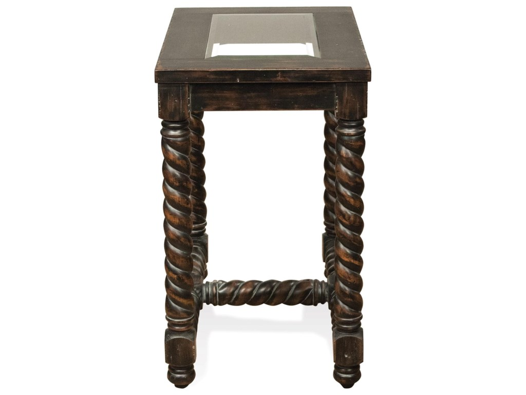 Riverside Furniture AlvaroChairside Table