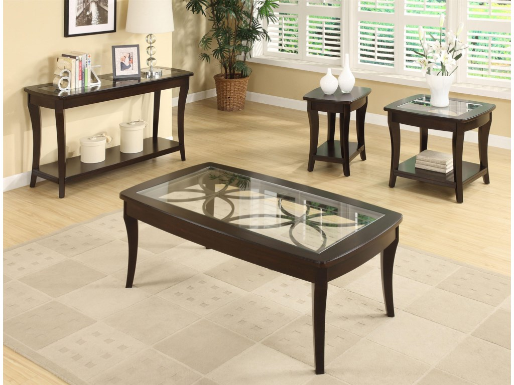 Shown with Coordinating Chairside Table, End Table, and Coffee Table