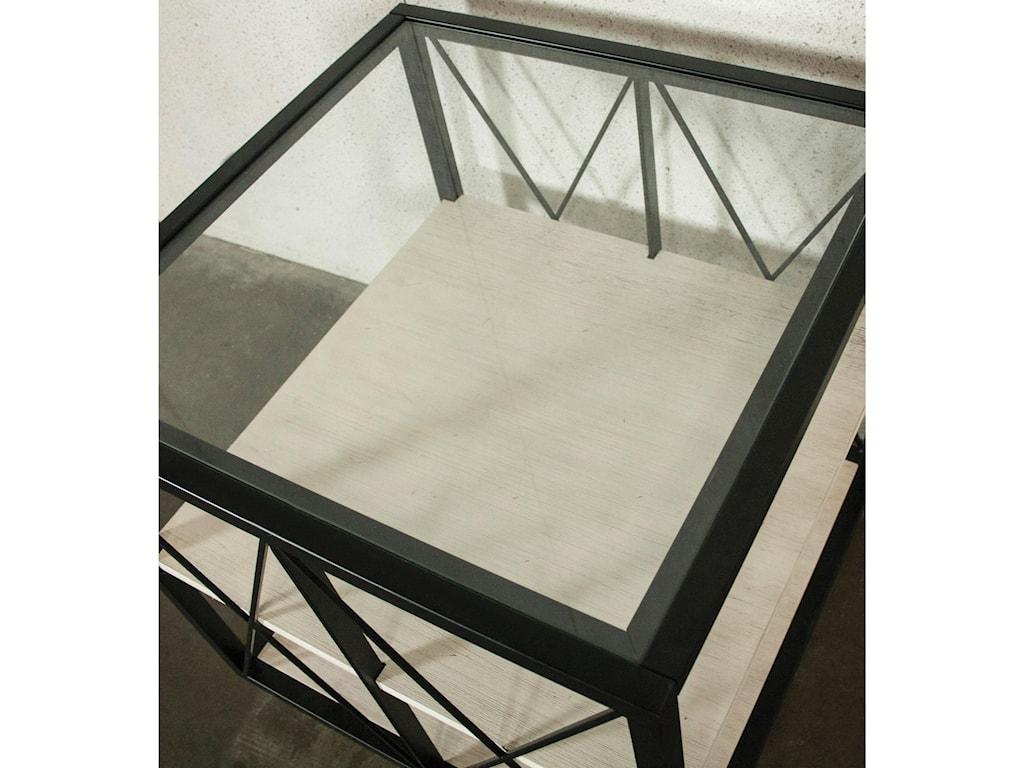 Riverside Furniture AsherSquare Side Table