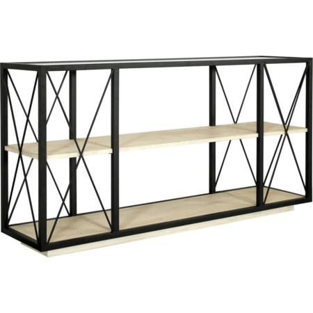 Rectangle Console Table