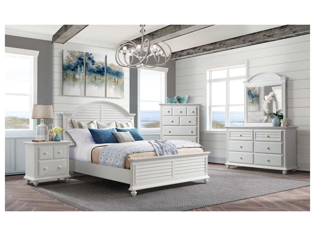 Riverside Furniture AvonKing Panel Bed