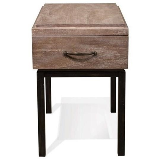 Riverside Furniture Axis 1 Drawer Chairside Table