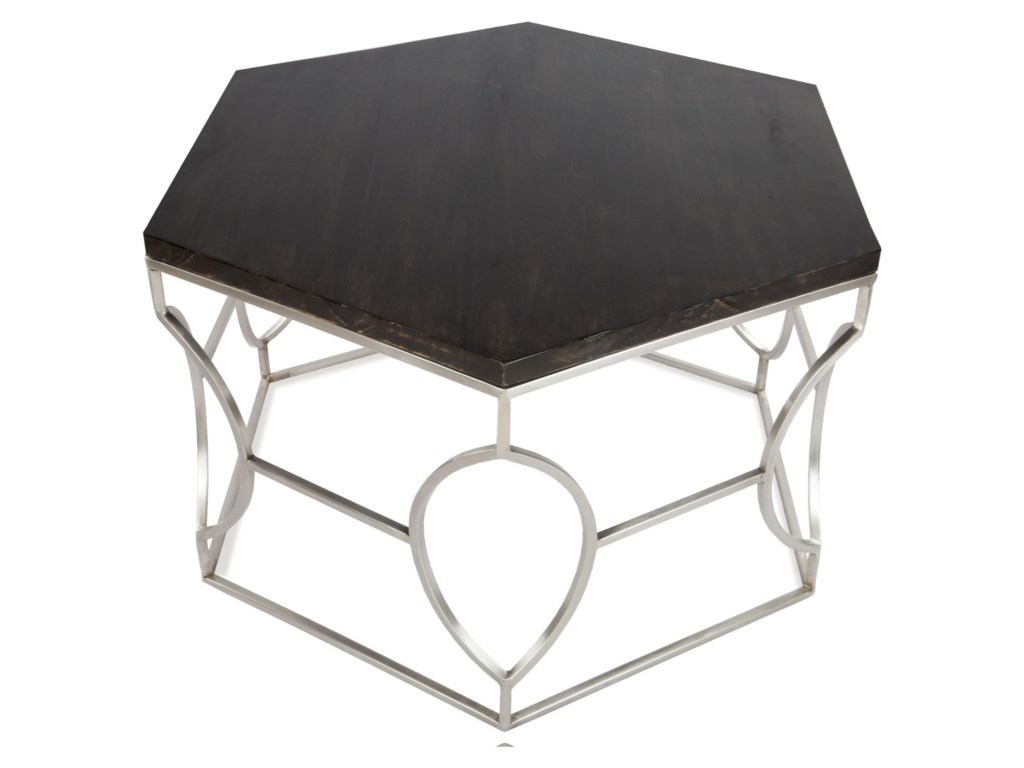 Riverside Furniture BarronHexagon Cocktail Table