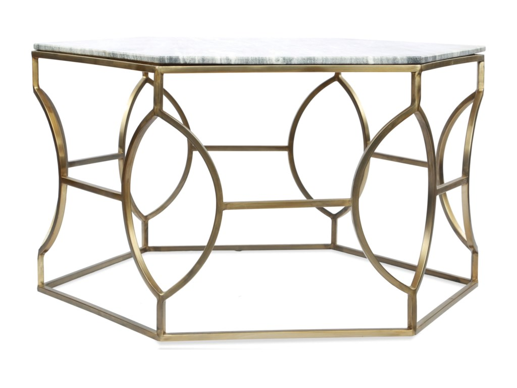 Riverside Furniture BarronHexagon Coffee Table