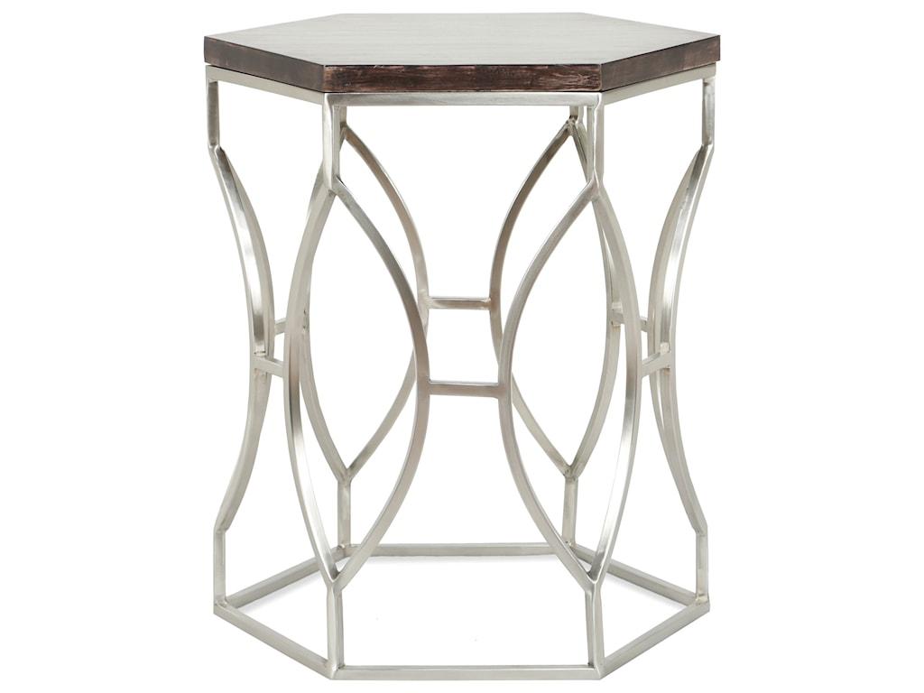 Riverside Furniture BarronHexagon Side Table