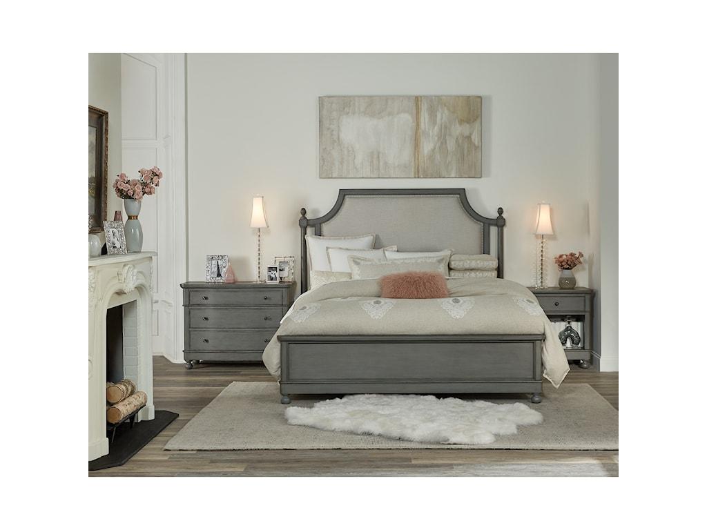 Riverside Furniture Bella GrigioCalifornia King Bedroom Group