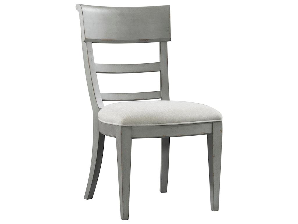 Riverside Furniture Bella GrigioUpholstered Side Chair