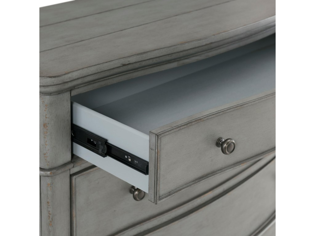 Riverside Furniture Bella Grigio3-Drawer Bachelors Chest