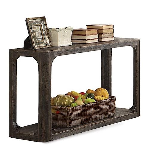 Riverside Furniture Bellagio Contemporary Sofa Table