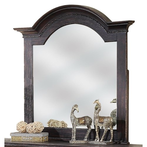 Riverside Furniture Bellagio Arch Dresser Mirror