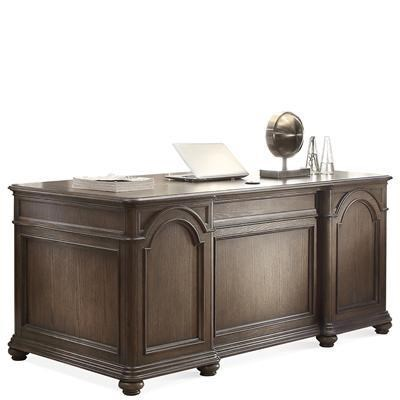 Belmeade Traditional Executive Desk By Riverside Furniture