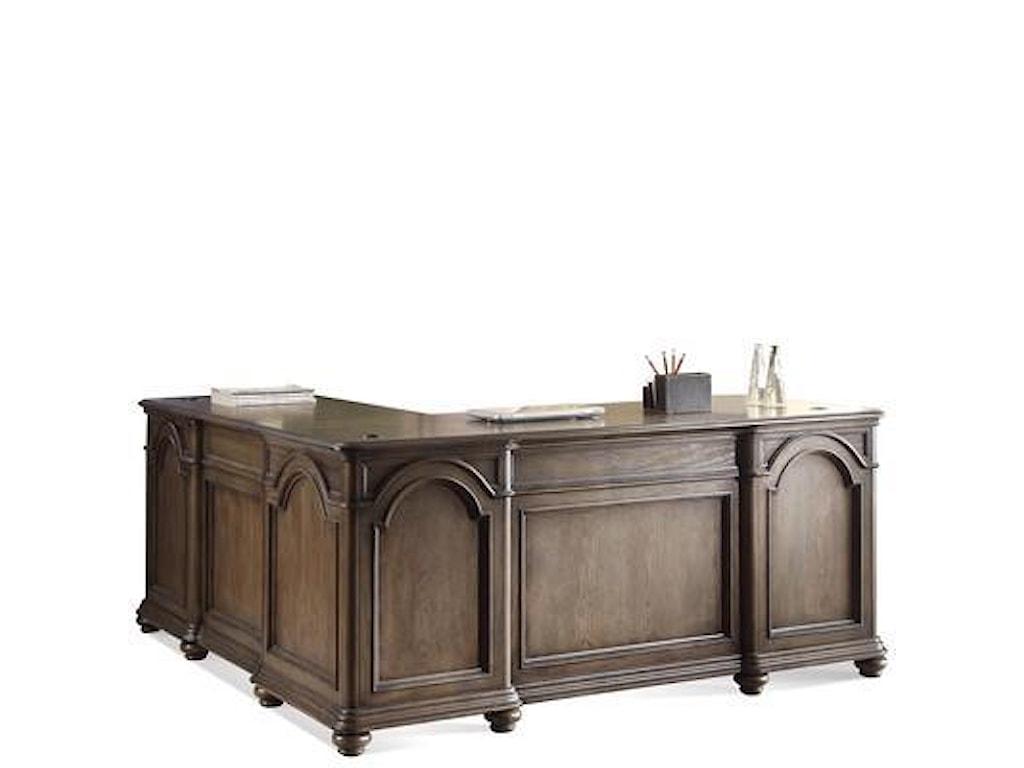 Riverside Furniture BelmeadeL-Desk & Return