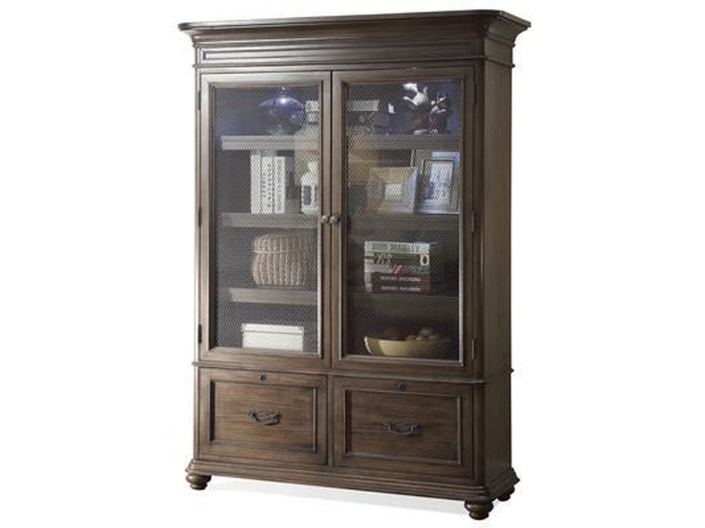Riverside Furniture BelmeadeDoor Bookcase