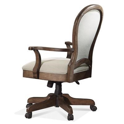Riverside Furniture BelmeadeRound Back Upholstered Desk Chair
