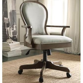 Genial Riverside Furniture Belmeade Scroll Back Upholstered Desk Chair