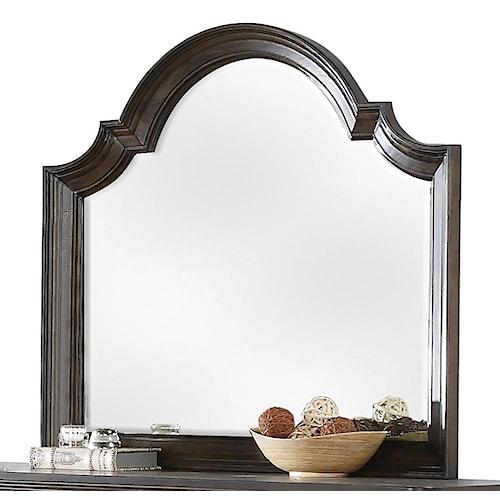 Riverside Furniture Belmeade Beveled Arch Mirror
