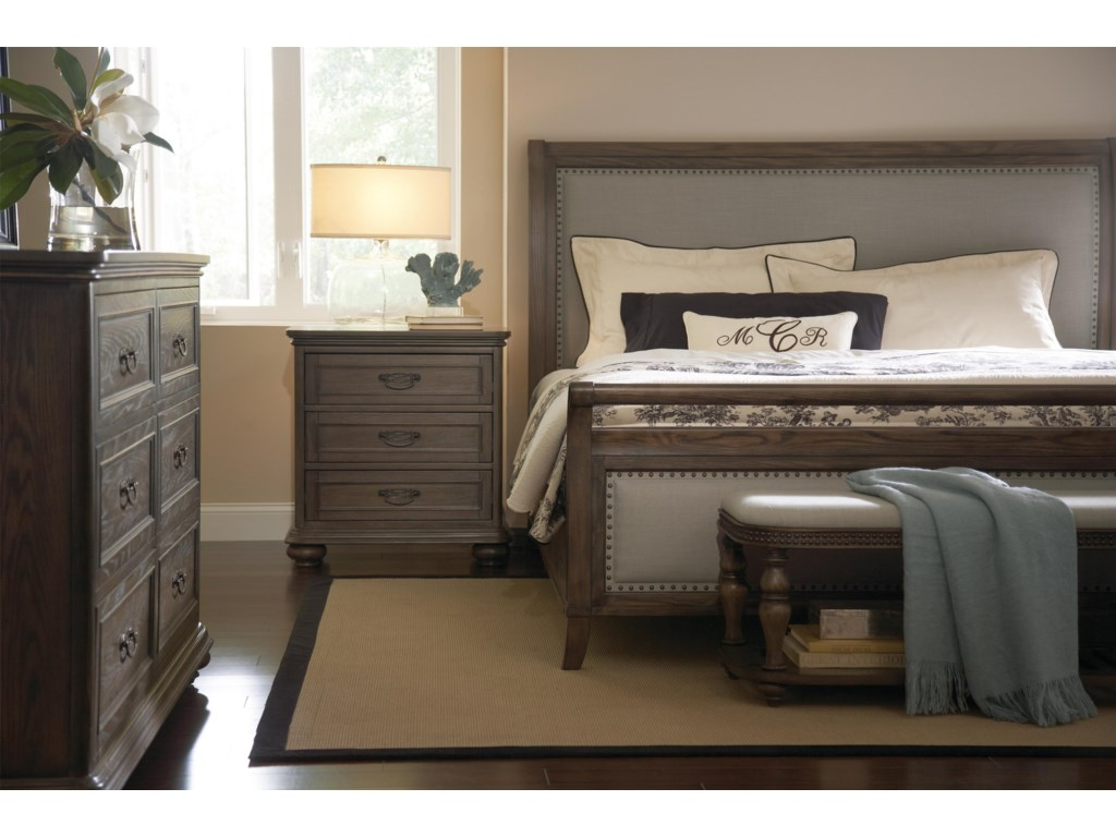 Riverside Furniture BelmeadeUpholstered Bed Bench