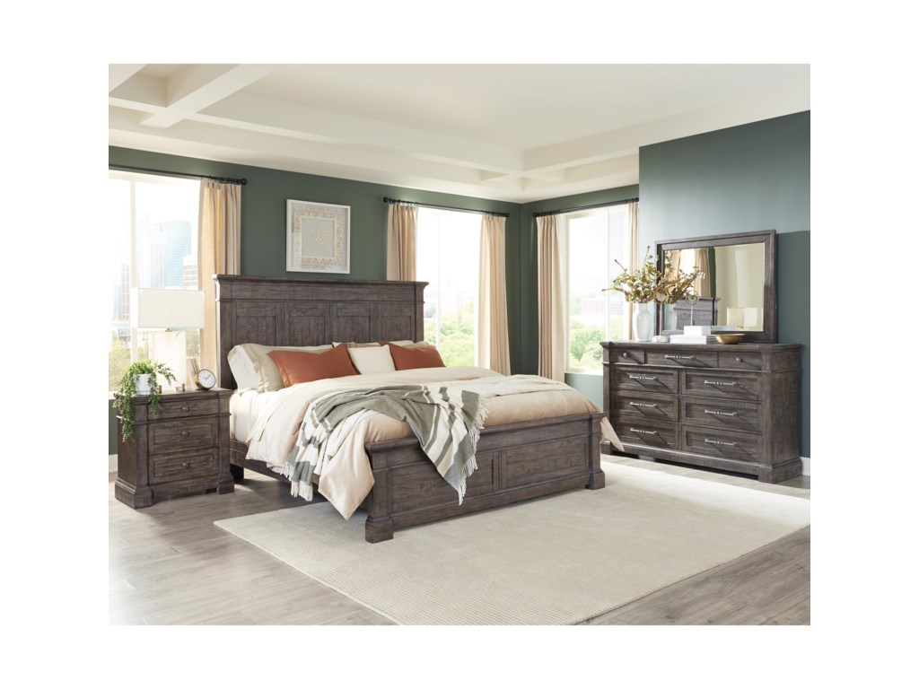 Riverside Furniture BradfordQueen Bedroom Group