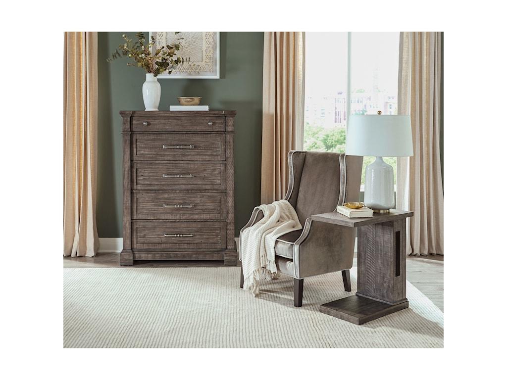 Riverside Furniture BradfordChairside Table