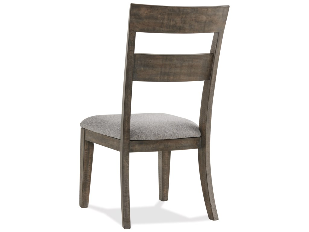 Riverside Furniture BradfordLadder Back Upholstered Side Chair