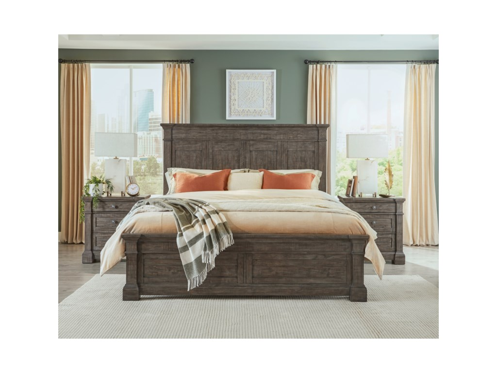 Riverside Furniture BradfordKing Panel Bed