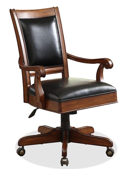 Riverside Furniture Bristol Court Caster Equipped Wooden