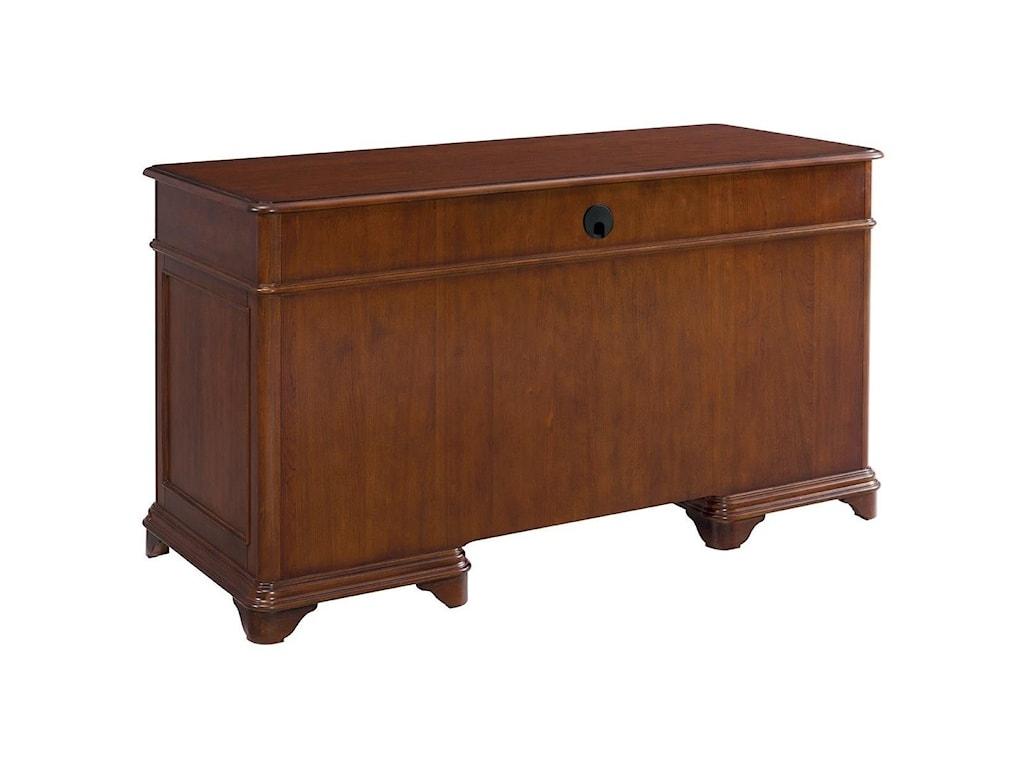 Riverside Furniture CampbellDouble Pedestal Desk