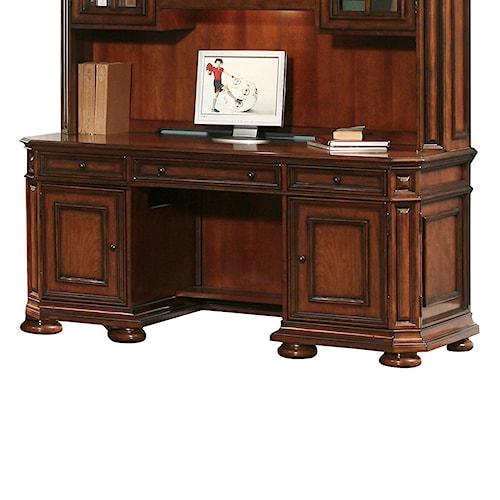 Riverside Furniture Cantata Kneehole Computer Credenza