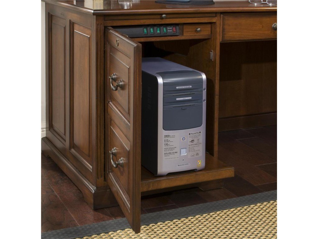 One Pull-out Shelf with Power Control Panel