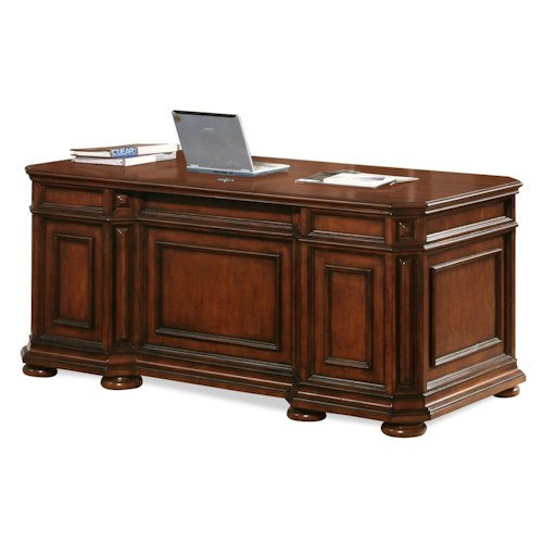 Riverside Furniture Cantata Double Pedestal Executive Desk