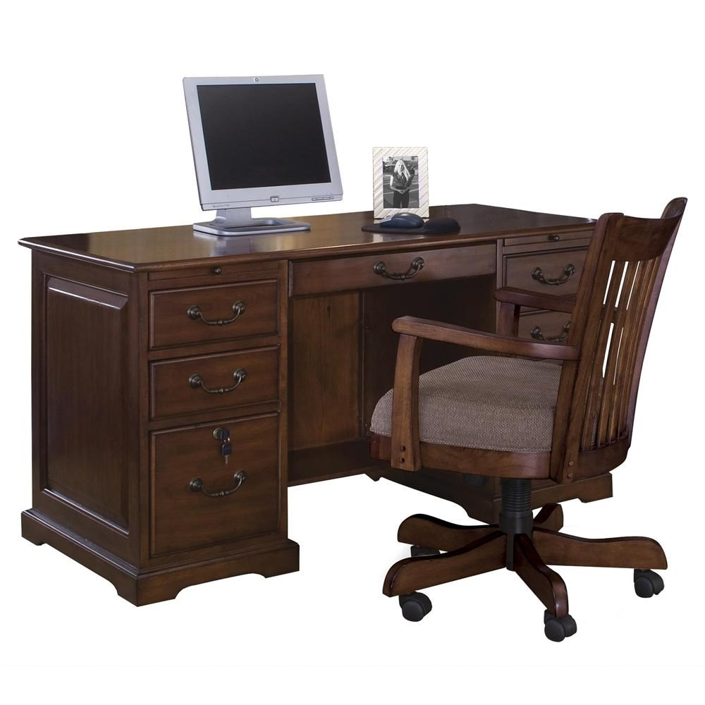... Riverside Furniture Cantata54 Inch Flat Top Computer Desk