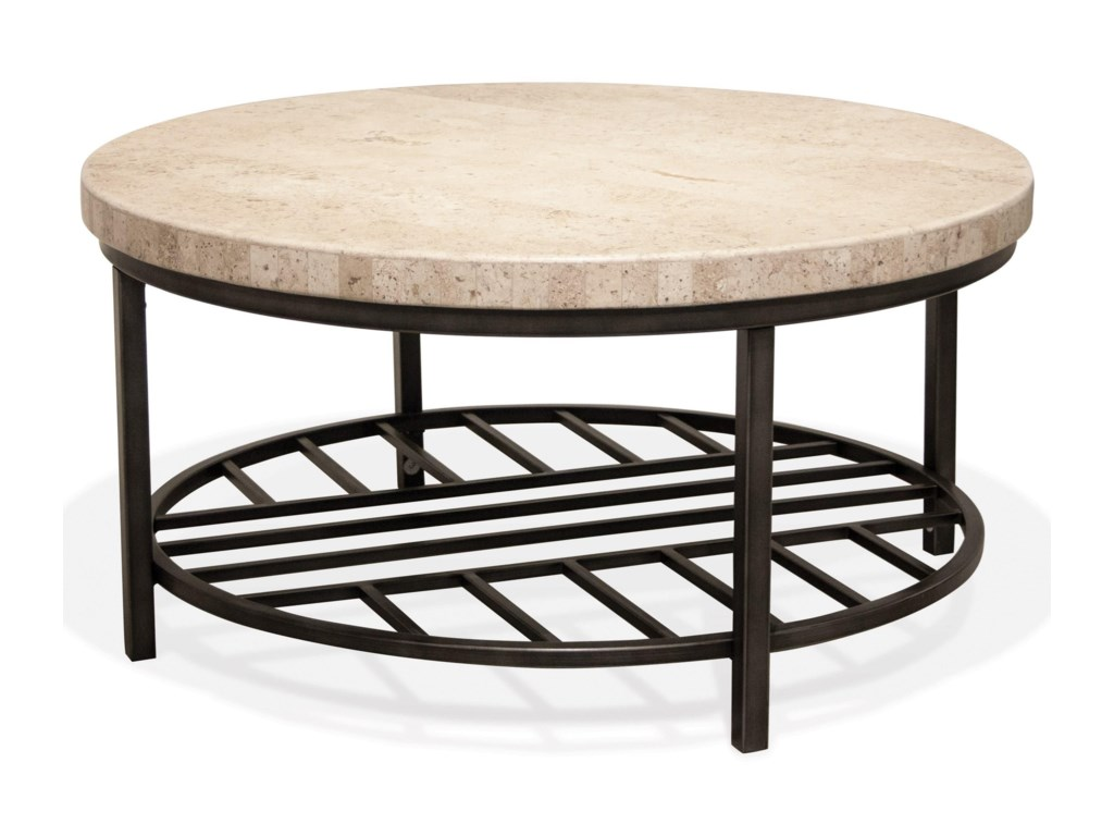 Riverside Furniture CapriRound Cocktail Table