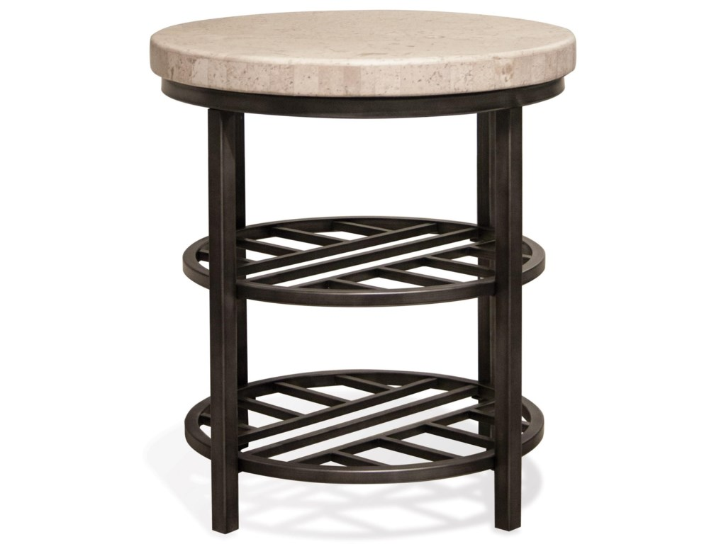 Riverside Furniture CapriRound End Table