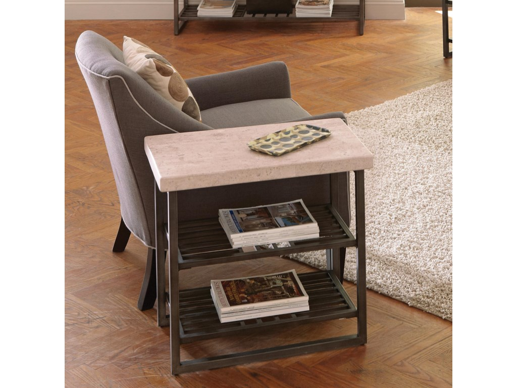Riverside Furniture CapriChairside Table