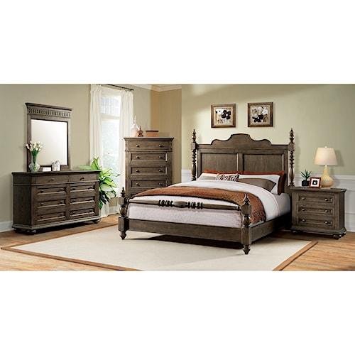 Riverside Furniture Cassidy California King Bedroom Group