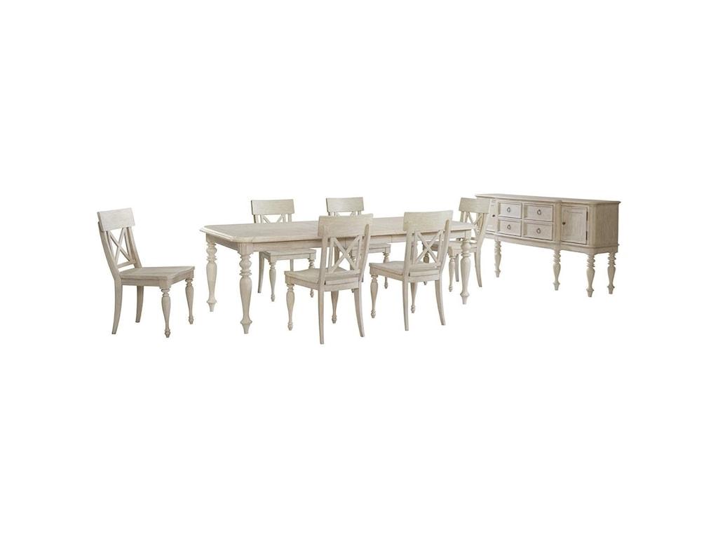 Riverside Furniture Charleston RetreatDining Room Group