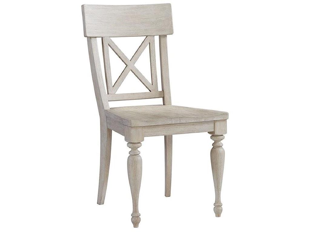 Riverside Furniture Charleston RetreatX-Back Side Chair
