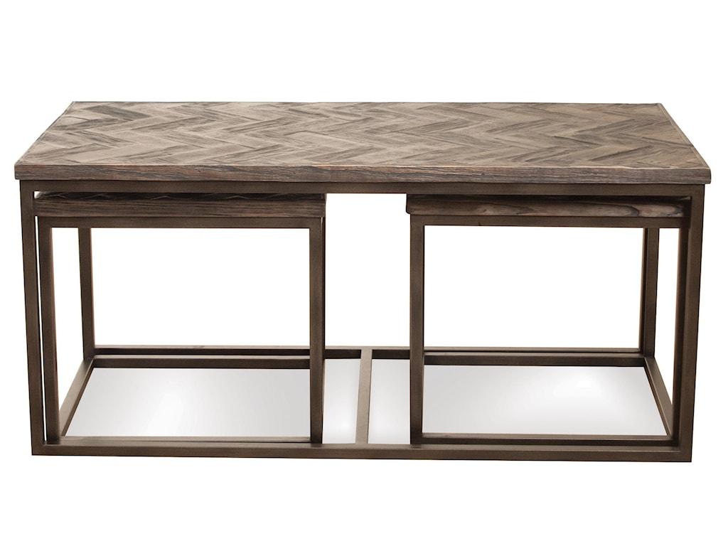 Riverside Furniture Chevronnesting Coffee Table
