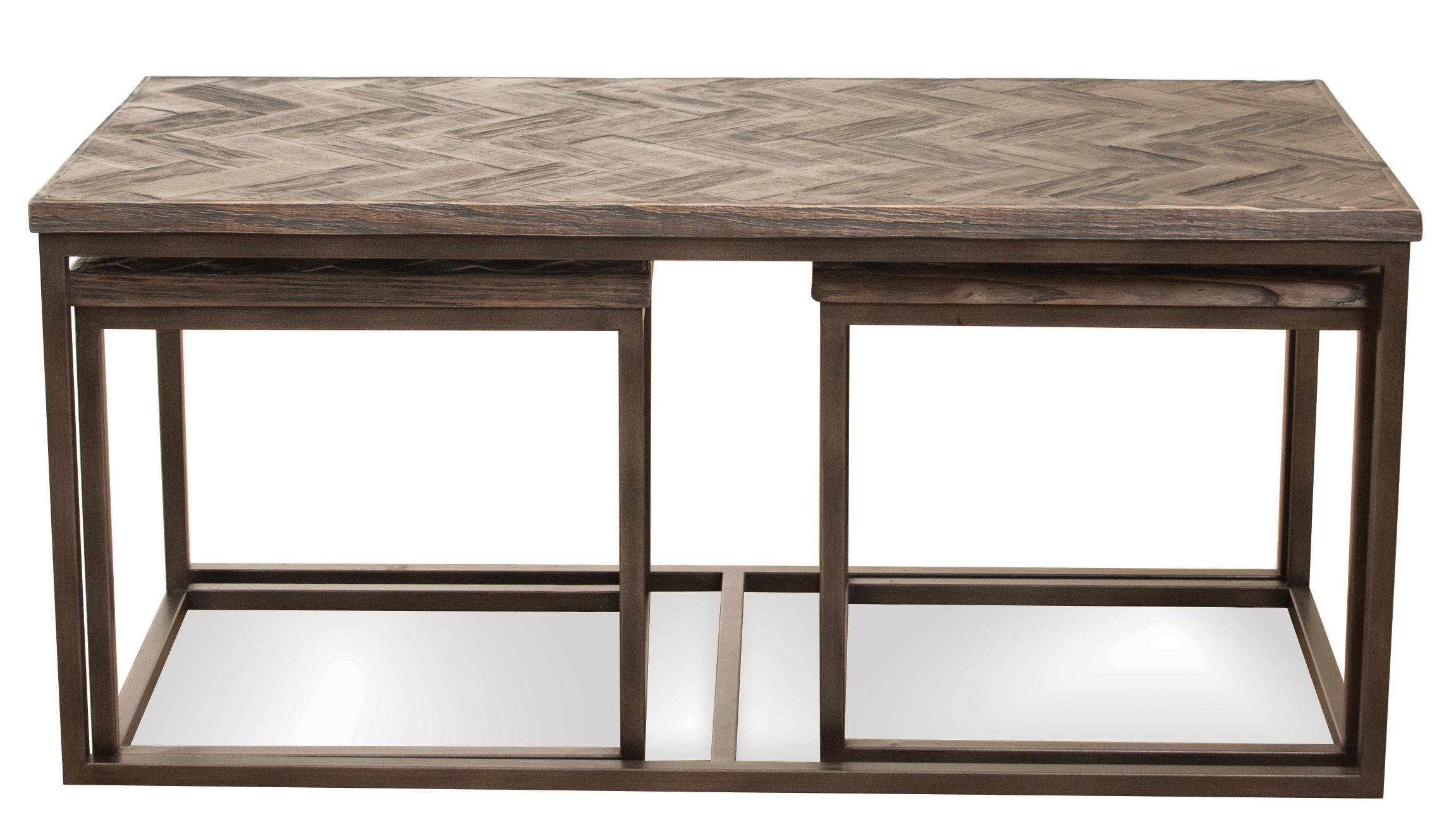 Riverside Furniture ChevronNesting Coffee Table ...