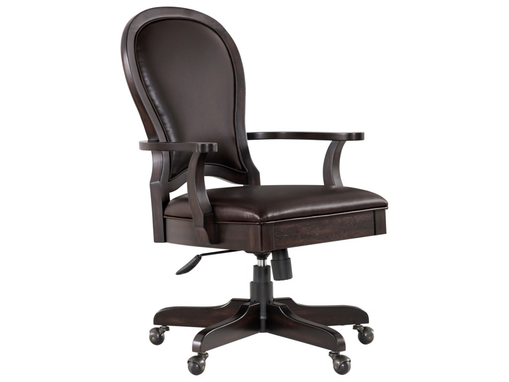 Riverside Furniture Clinton HillLeather Executive Chair