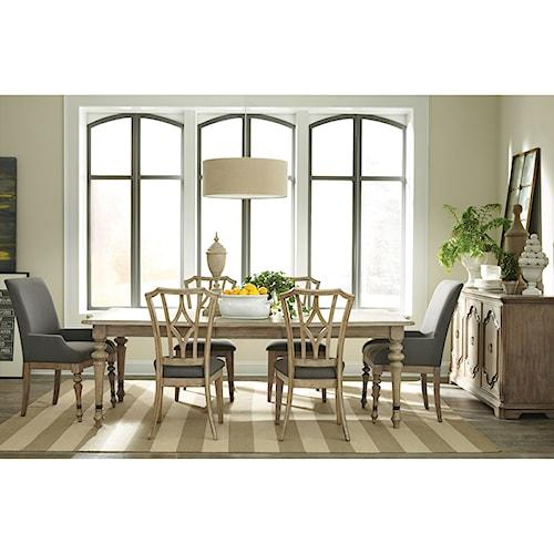 Riverside Furniture Corinne Formal Dining Room Group 3