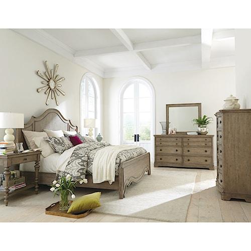 Riverside Furniture Corinne California King Bedroom Group 1
