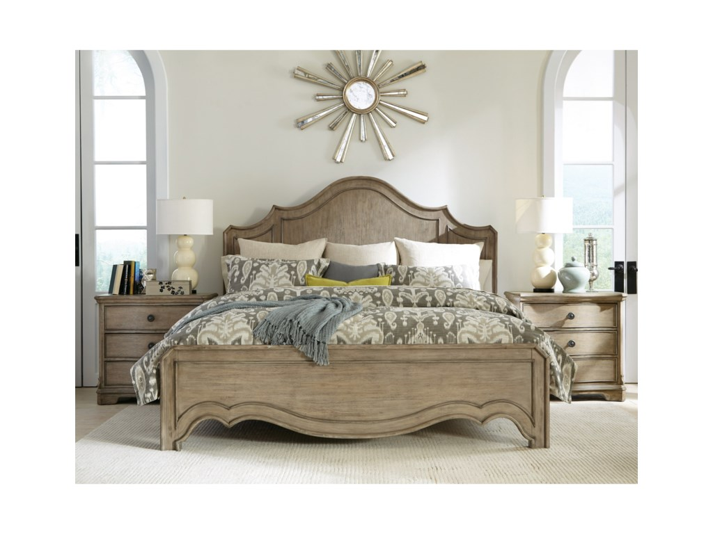 Riverside Furniture CorinneCalifornia King Bedroom Group 2