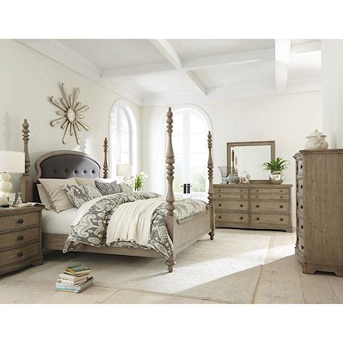 Riverside Furniture Corinne King Bedroom Group 3