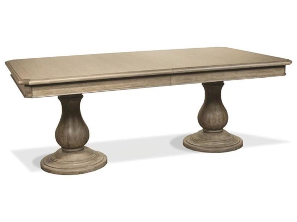 Riverside Furniture CorinneDouble Pedestal Dining Table